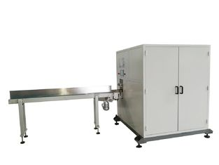 China Single Lane Facial Tissue Paper Cutting Machine With PLC And Servo High Speed supplier