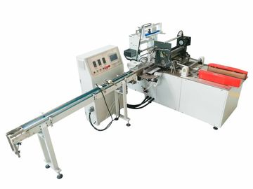China Pocket Bundling Paper Wrapping Machine With PLC HMI Single Infeed Lane supplier