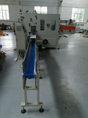 China Restaurant Napkin Wrapping Paper Machine Square Big Size PLC / Servo Control supplier