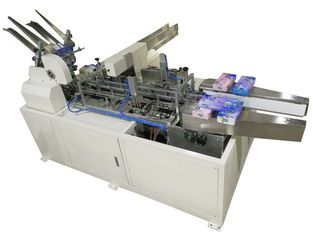 China Double Servo Control Paper Box Packing Machine With PLC / HMI supplier