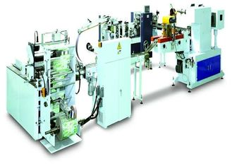 China Mini / Standard Pocket Tissue Production Line With Bundling Packer CE Certification supplier