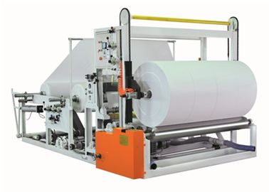 China Automatic Jumbo Paper Roll Slitter Rewinder Electronic Speed Regulation factory