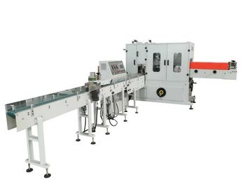China Thin Paper Napkin Packing Machine With Simens PLC / Servo / Inverter Control factory