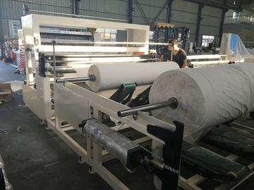 China Double Paper Paper Rewinder Machine / Tissue Slitting And Rewinding Machine factory