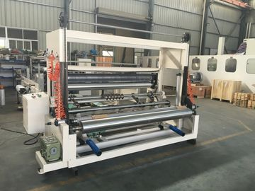 China High Speed Tissue Paper Slitting And Rewinding Machine Automatic Discharging distributor