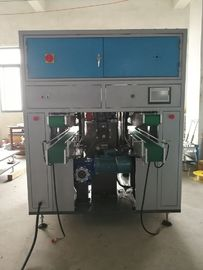 China Double Lane Tissue Paper Converting Machine 3 Servo Control Rotary Cutting factory