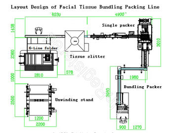 China Facial Tissue Paper Production Line , PLC Controlled Paper Production Line distributor