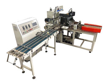 China Pocket Bundling Tissue Paper Packing Machine Double Infeed Lane PLC Control factory