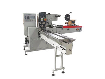 China Pocket Tissue Napkin Paper Packing Machine With PLC HMI Standard Or Mini Type distributor