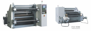China Touch Screen Film Slitter Rewinder Machine Speed 5 - 300 M / Min Energy Saving distributor